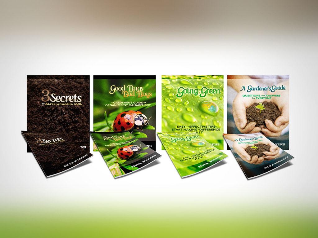 "Cover Design | ""Gardener's Guide"" Series, by Silya Wiggens"