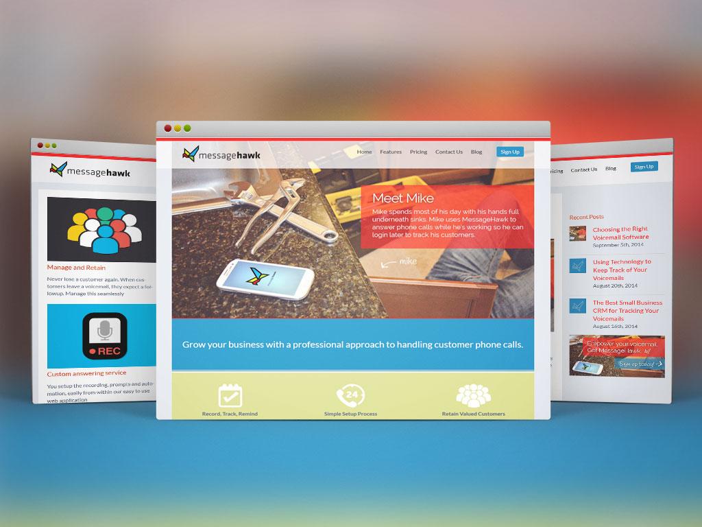 Web Design & Dev, WordPress | MessageHawk